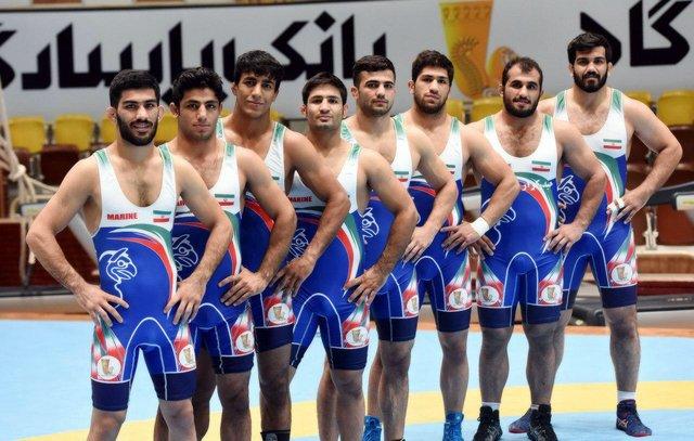تیم ملی کشتی فرنگی ایران نایب قهرمان جهان شد
