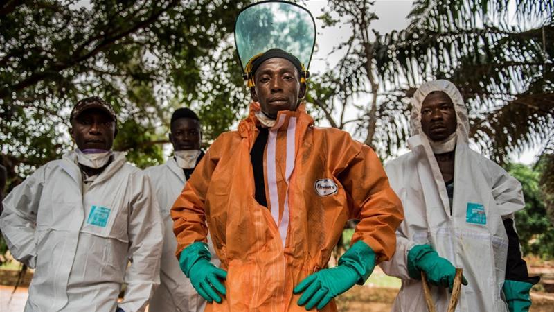 عملیات دشوار یابندگان اجساد در سیرالئون