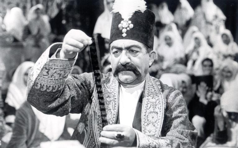 نمایش فیلمهای دوره مظفرالدین شاه در کاخ گلستان