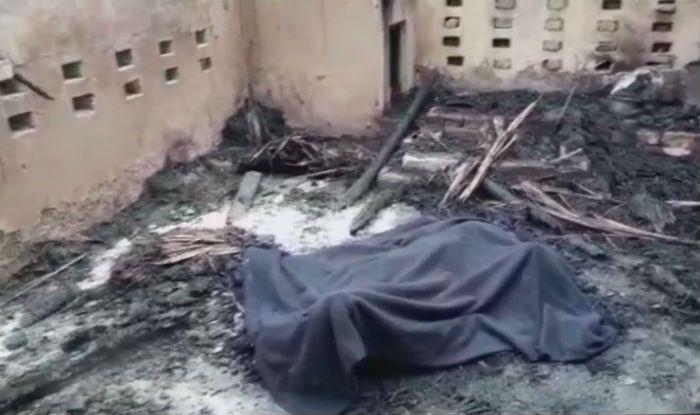 سوزاندن زن هندی به خاطر مقاومت در برابر تجاوز