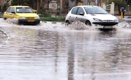 نخستین تصاویر از سیل گیلان و مازندران