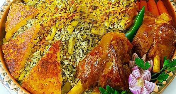 آشپزی / دستور پخت باقالی پلو به شیوه رستورانها