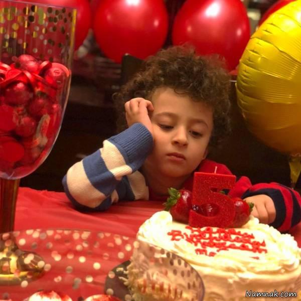 تصاویری از جشن تولد 5 سالگی پسر روناک یونسی