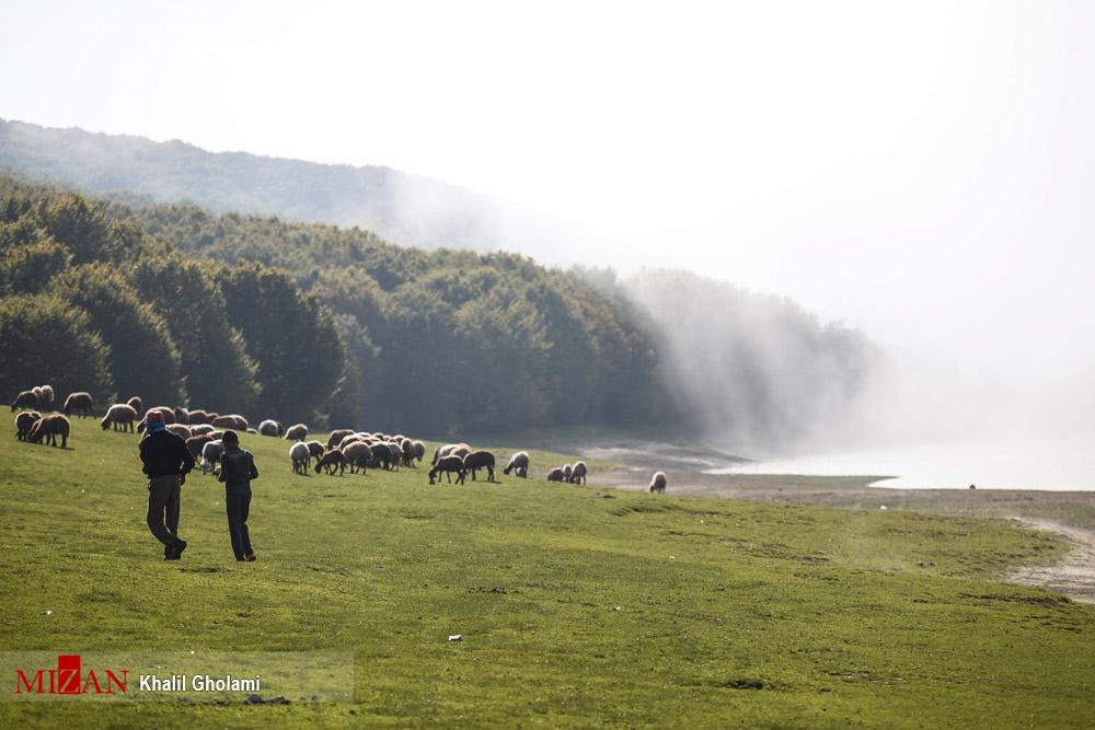 عکسهای فوقالعاده از دریاچه سوها در اردبیل