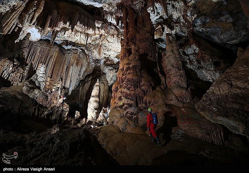 گزارش تصویری از غار کهک در استان مرکزی