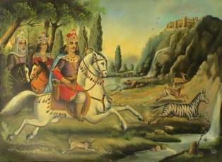 داستانهای شاهنامه/ چند ماجرا از شکارها و خوشگذرانیهای بهرام گور