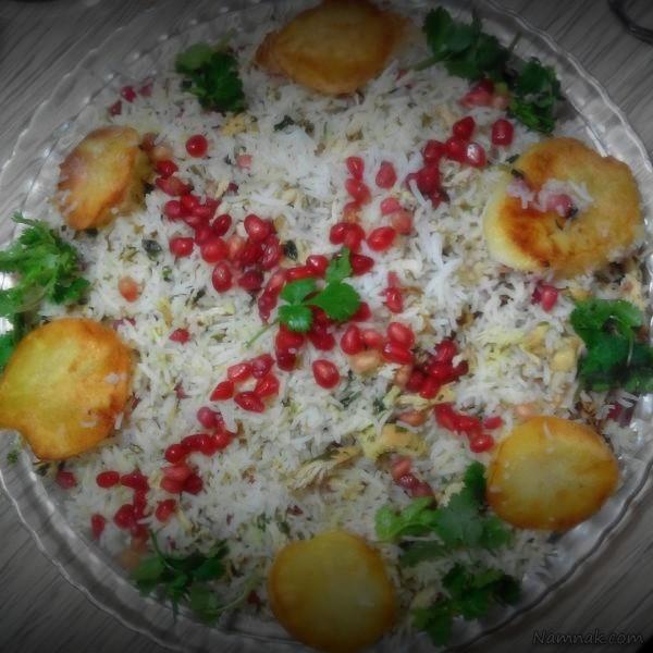 طرز تهیه انارپلوی شیرازی