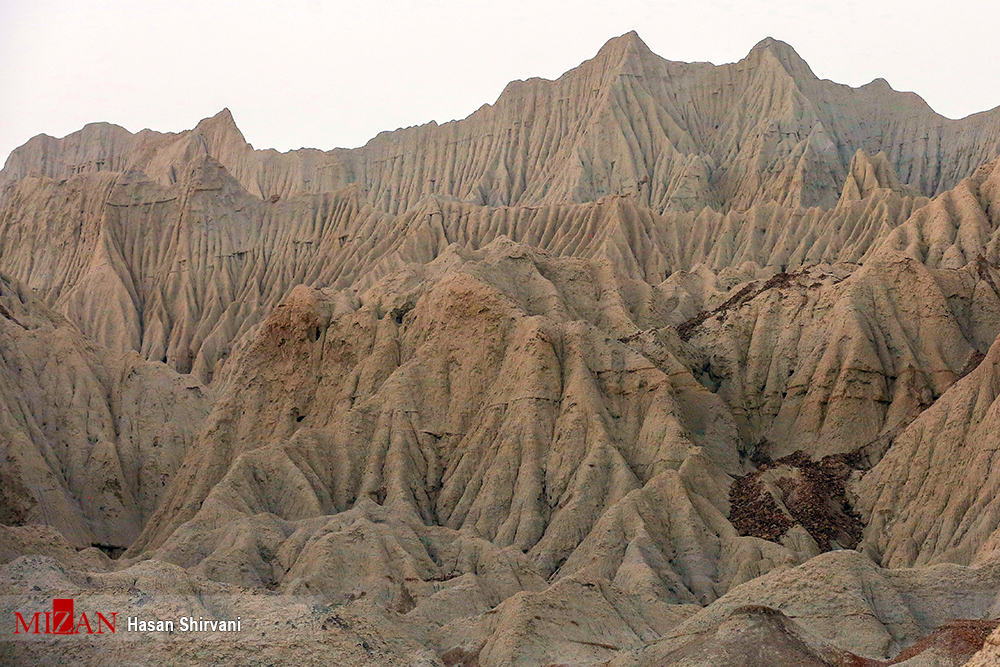 گزارش تصویری از کوههای مریخی در چابهار