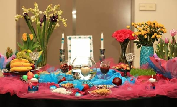 راهنمای چیده سفره هفت سین ارزان  و زیبا در عید نوروز با تورهای رنگی
