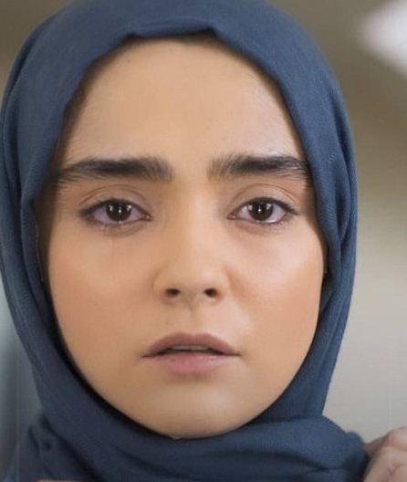 عکس واقعی مهتاب اکبری بازیگر نقش سوگند در سریال لحظه گرگ و میش
