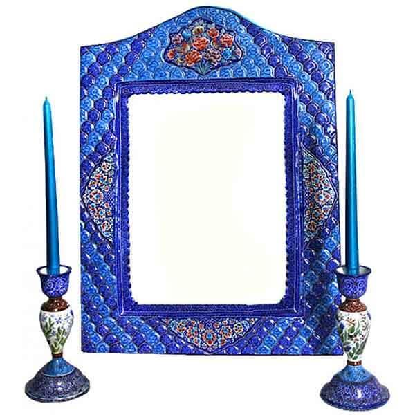 نکاتی درباره انتخاب آینه و شمعدان برای هفت سین