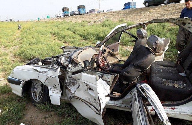 مرگ 121 مسافر نوروزی در جادهها