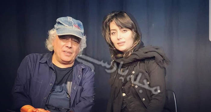هدیه بازوند بازیگر نقش روژان در سریال نون . خ