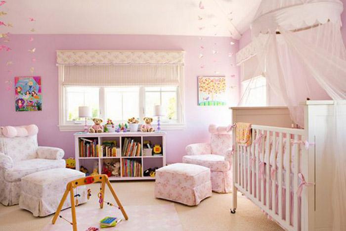 بهترین رنگ برای اتاق کودک چیست؟