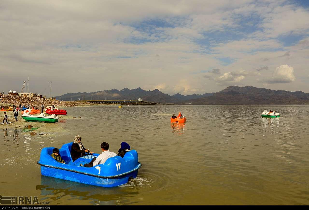 گزارش تصویری از جان گرفتن دوباره دریاچه ارومیه