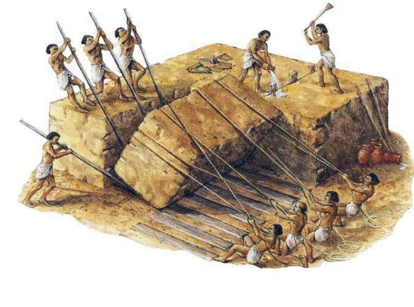 اهرام ثلاثه مصر چگونه ساخته شد؟