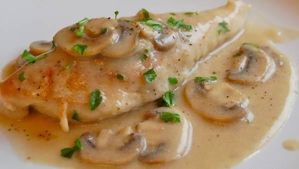 آشپزی/ دستور پخت خورش قارچ و مرغ و نحوه سرو آن