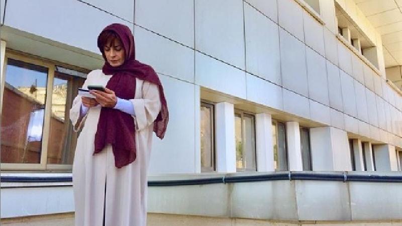 عکس اینستاگرام سیما تیرانداز بازیگر نقش انیس سریال ستایش