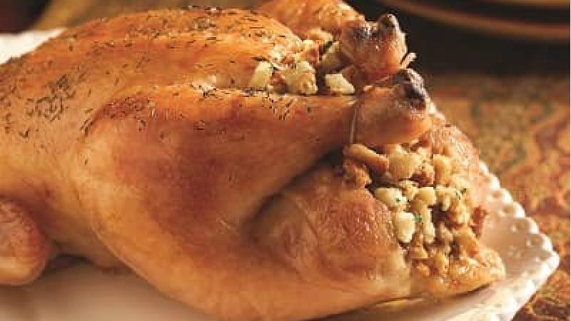 مرغ شکم پر را چه طور درست کنیم