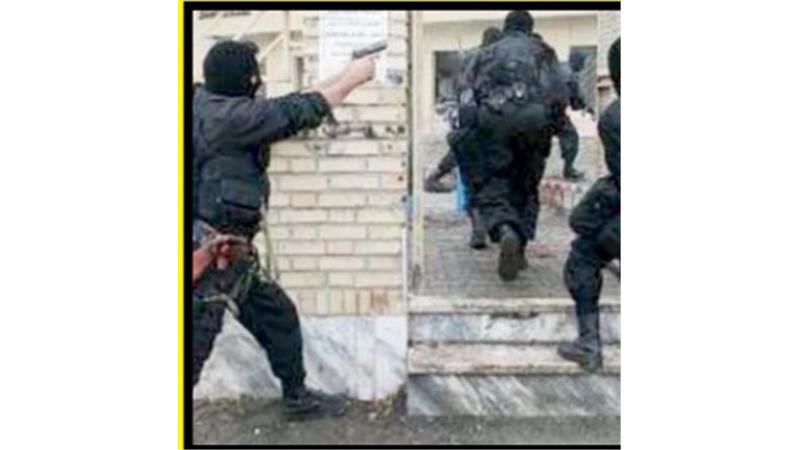 240 دقیقه گروگانگیری مسلحانه در مجلس ختم