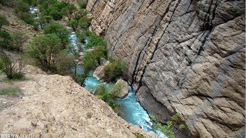 دره نی گا از دیدنی های استان لرستان است