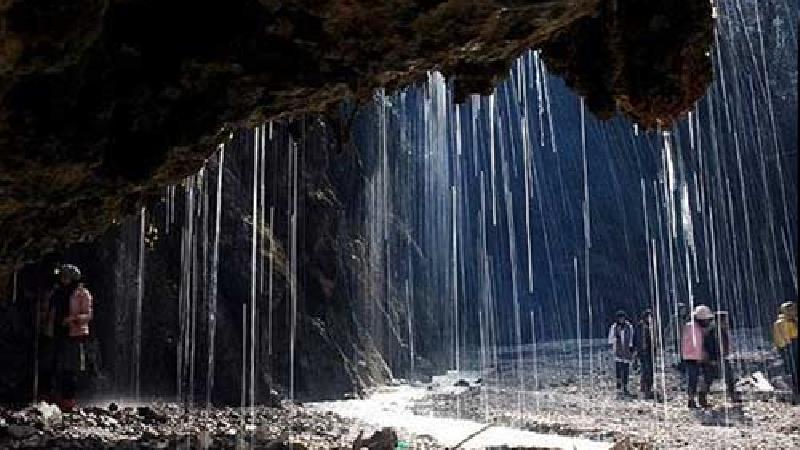 آّبشار باران کوه دقیقا کجا است