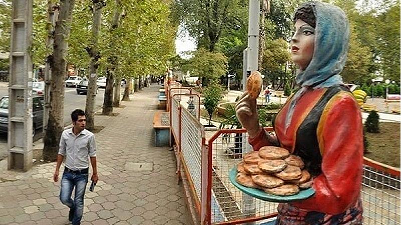 عکسی از پارک مجسمه های فومن در استان گیلان