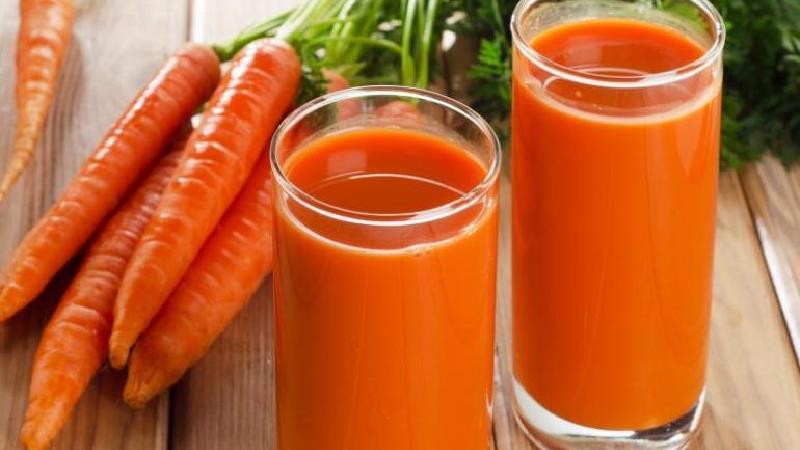 آب هویج ارزش غذایی زیادی دارد