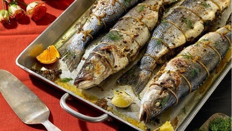 برای تهیه ماهی شکم پر چه موادی نیاز داریم