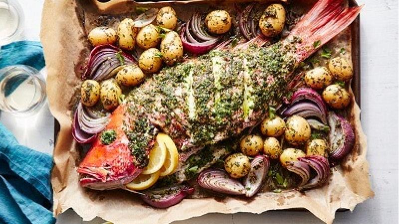 دستور پخت ماهی شکم پر را بخوانید