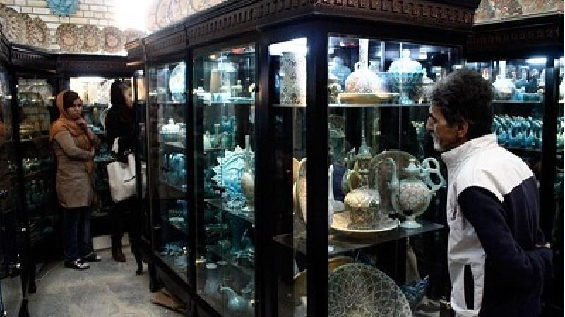 فروشگاه صنایع دستی در گنج نامه همدان