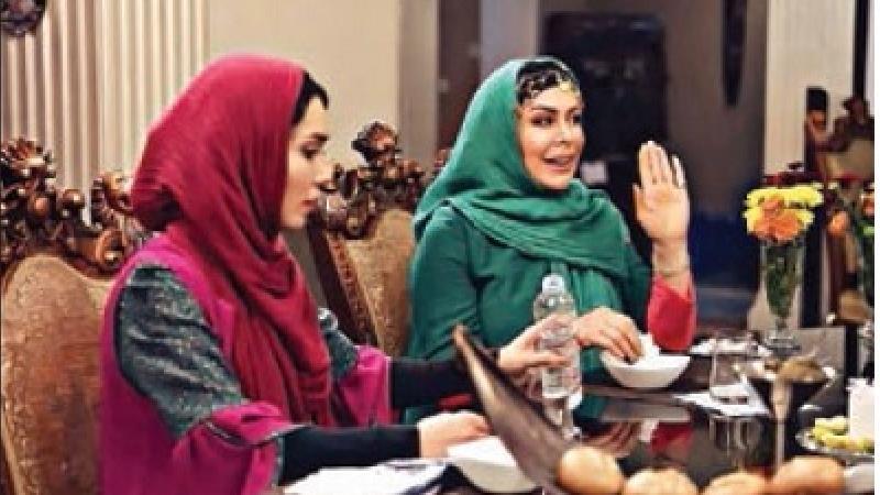 فلور نظری در شام ایرانی