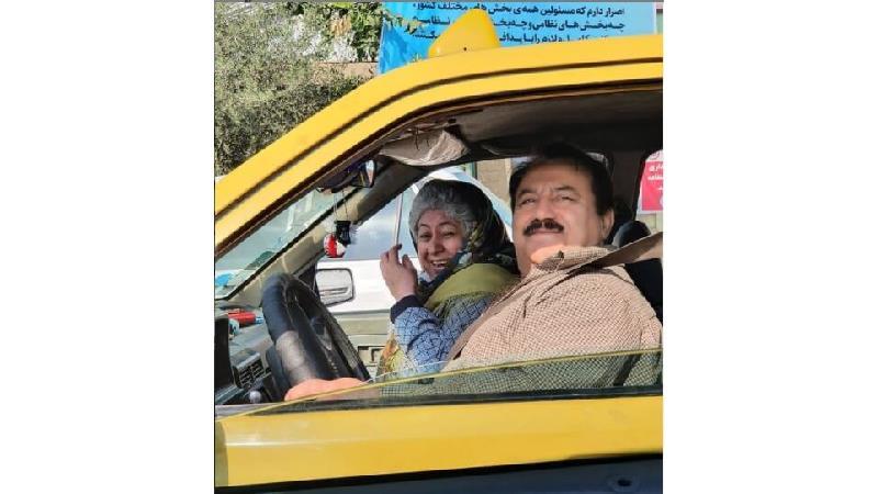 علیرضا گالش، معروف به قارنلی بازیگر نقش آقا نگهدار در سریال بچه محل