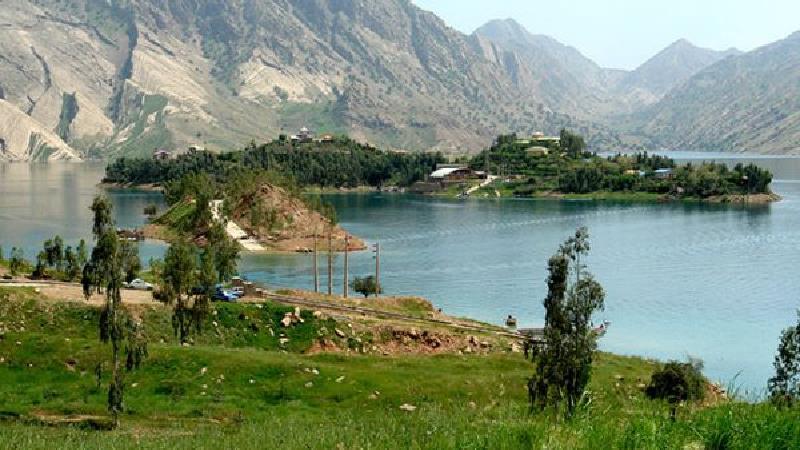نشانی دقیق دریاچه سد نمرود