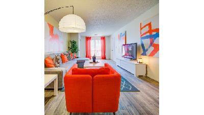 دکوراسیون خانه با رنگ نارنجی