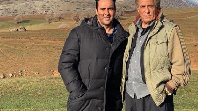 مجید مظفری و پوریا پورسرخ در سریال ایل دا