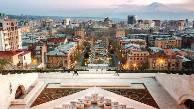 ایروان پایتخت ارمسنتان مکان های دیدنی زیادی دارد