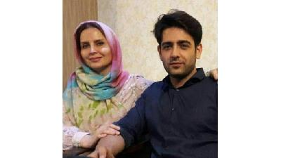 امیرحسین آرمان در کنار مادر