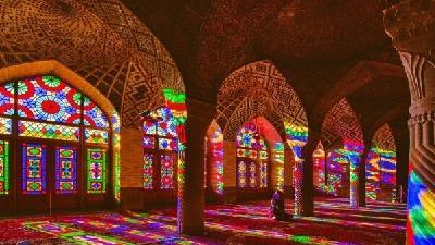 مسجد نصیرالملک یکی از زیباترین مساجد ایران است