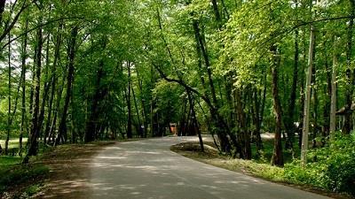 پارک کشپل از مناطق دیدنی چمستان