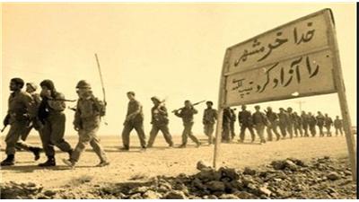 فیلمی از لحظه تاریخی آزادسازی خرمشهر