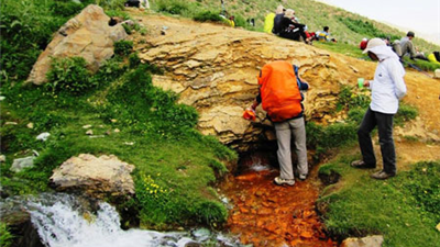 قله خلنو، تنگ لالون و  چشمه تلخاب کجا هستند و چگونه باید برویم