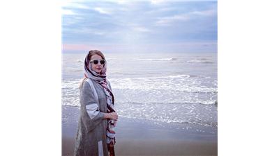 عکس ساحلی از شبنم قلی خانی