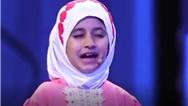 آدرینا توشه دختر 9 ساله در مرحله دوم برنامه عصر جدید نقش زهرا میری فرزند غواص شهید جلیل میری را بازی کرد