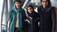 رضا یزدانی در کنار همسر و دخترش