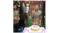 عکسی از جشن تولد 40 سالگی هانیه توسلی