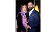 عکسی لوس از سلطان حاشیه و همسرش