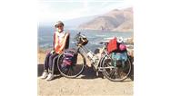 گفتوگو با پوپه مهدوینادر، دختری که ١٧ با دوچرخه به دور دنیا سفر کرد