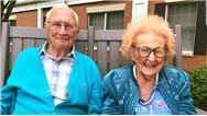 ازدواج زوج عاشق در 100 سالگی
