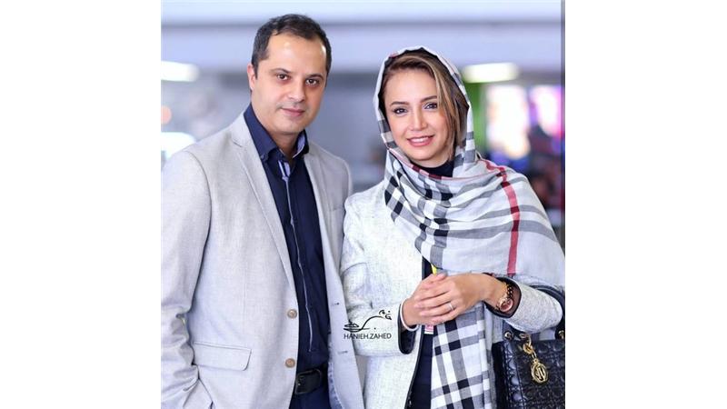 شبنم قلی خانی در سال 86 با همسرش رضا ازدواج کرد